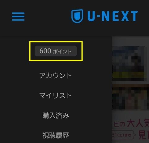 U-NEXT ポイント